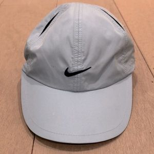 Nike dry fit ladies blue cap w/ navy accents,